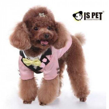 Smoking Rosa per cani Samuel IS PET - Taglia L