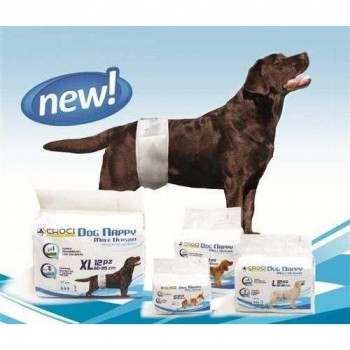 Fascia Assorbente DOG NAPPY per cani maschi