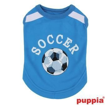 Canotta WORLDPUP ROYAL Azzurra per cani - PUPPIA