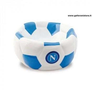 CIOTOLA CERAMICA FOOTBALL ufficiale del Napoli per cani - Squadre di calcio Serie A