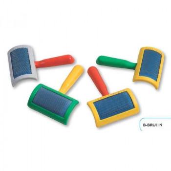 Cardatore piccolo in plastica cm 10 x 6