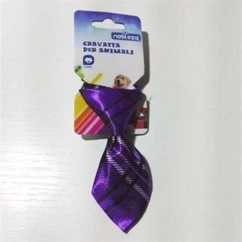 Cravatta per cani Viola - Nobleza