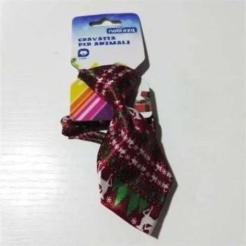 Cravatta per cani rosso cervi - Nobleza