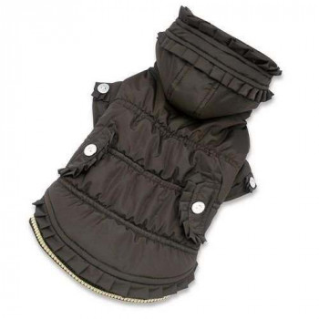 Cappottino Victoria Winter Is Pet brown S per cani