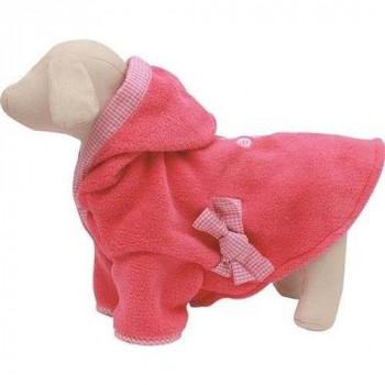 Accappatoio per Cani colore Rosa - Linea Fuss Dog