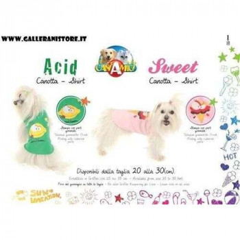 Canotta Flavour per cani - CaniAmici