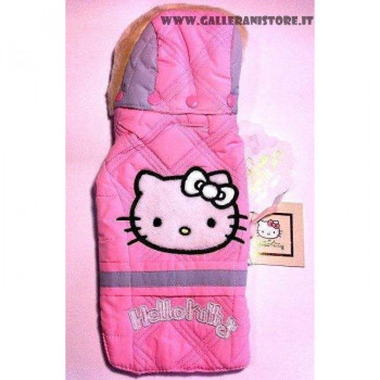 Piumino per cani HELLO KITTY Rosa - FIX FOR PETS