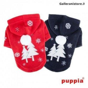 SNOWDAY Felpa natalizia con cappuccio per cani - PUPPIA
