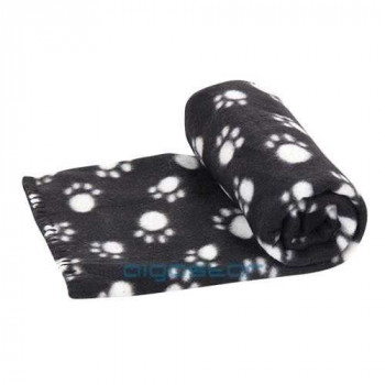 Plaid PET BLANKED BLACK coperta per cani e gatti
