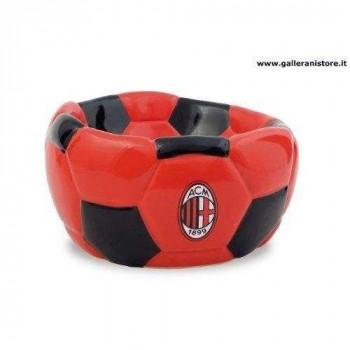 CIOTOLA CERAMICA FOOTBALL ufficiale del Milan per cani - Squadre di calcio Serie A