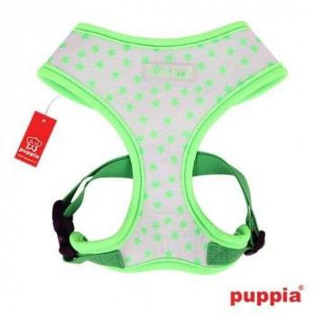 Pettorina Cosmic Harness Fluo Green per cani - PUPPIA