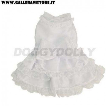 Vestitino da cerimonia White Formal per cani - Doggy Dolly