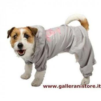 Tuta Impermeabile zampe/cappuccio staccabile per cani - La Pantera Rosa