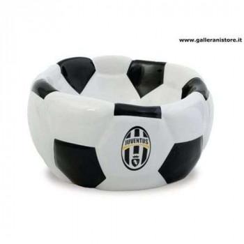 CIOTOLA CERAMICA FOOTBALL ufficiale della Juventus per cani - Squadre di calcio Serie A