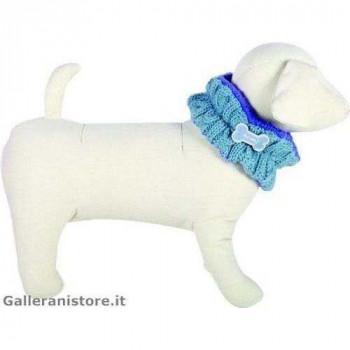 Scaldacollo Azzurro per cani - Fuss Dog
