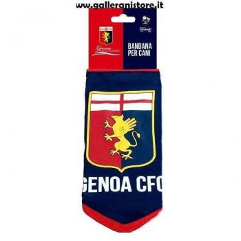 BANDANA ufficiale GENOA football per cani - Squadre di calcio Serie A